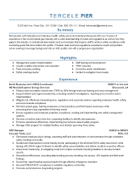 Chic Geologist Resume Template With Professional Safety And