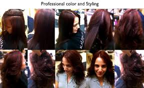 professional hair color at home