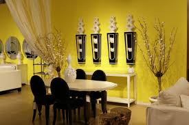 Yellow Living Room Interior Paint Design Home Gallery Classic