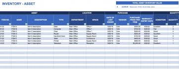 Inventory Management In Excel Free Excel Inventory Templates In Asset Inventory Management Excel