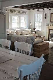 FARMHOUSE 5540 love the painted chairs | Home decor | Pinterest ...