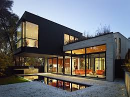 modern luxury modern architect ideas that used grey wall exterior color can add the beauty inside with warm lighting it deocrated with glasses materials architecture awesome modern outdoor patio design idea