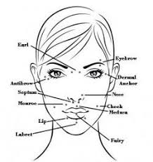 Facial Piercing Chart Come In For 2 For 1 Piercings Everyday In 2019 Piercings