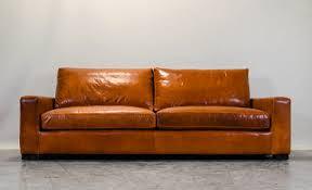 restoration hardware leather sofa.  Hardware Restoration Hardware Maxwell Leather Sofa And A