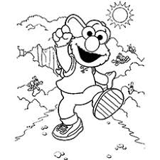 Small Picture Cute Elmo Coloring Pages Free Printables MomJunction