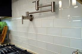 Kitchen With Glass Tile Backsplash Interesting Glass Tile Backsplashes Designs Types DIY Installation