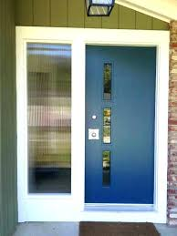 front doors with glass panels modern contemporary entry s door panel replacement cost