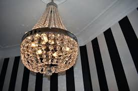 malone chandelier this now makes for the perfect luxury powder room and what visit would be