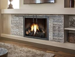 and style to your fireplace the glass doors open like barn doors by gliding on a track