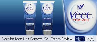 veet for men hair removal gel cream review