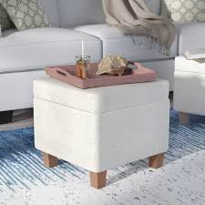 how to use an ottoman as a coffee table