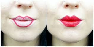 how to make your lips smaller without makeup