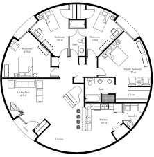 plan number dl5001 floor area 1,964 square feet diameter 50' 4 Open Plan House Design Nz tiny houses · plan number dl5001 floor area 1,964 square feet diameter 50' 4 bedrooms open plan house design nz