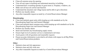 nice housekeeper job description resume housekeeper job description resume housekeeping job duties