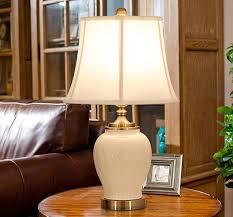 Gzeall American Style Keramik Tischlampe Waumlrme Schlafzimmer
