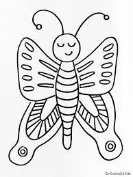 25 Printen Kleurplaat Vlinder Peuters Mandala Kleurplaat Voor Kinderen