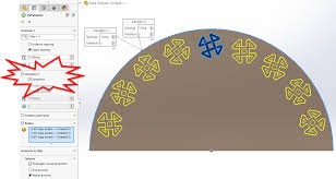 Circular Pattern Solidworks Best SOLIDWORKS 48 Bidirectional Circular Patterns Computer Aided