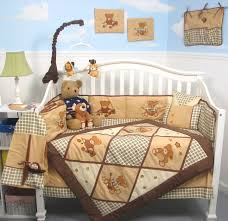 teddy bear crib sheet amazon com soho classic american teddy bear baby crib nursery