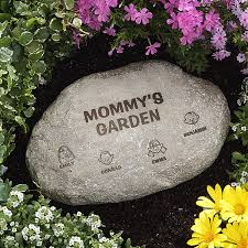 personalized garden stones our loving family 8192