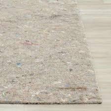 non slip hard surface rug pad
