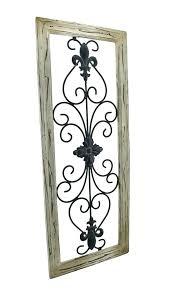 premium metal scroll wall decor t5085053 wood and metal scroll wall decor
