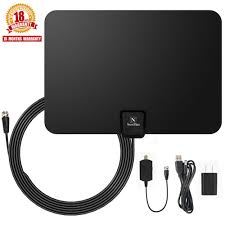 Flow Plus 60 Mile Range Designer Indoor Amplified Hdtv Antenna Tv Antenna Newplus Indoor Amplified Hdtv Antenna 50 Mile Range With Detachable Amplifier Signal Booster Usb Powersupply And 16 5ft High Performance