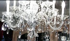 crystal teardrop chandelier earrings photo
