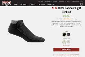 Darn Tough Vermont Sock Size Chart Darn Tough Product Copy Jessehuffman Com