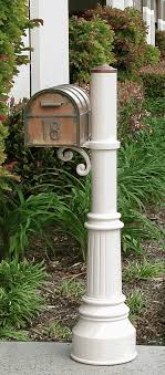 Aluminum mailbox post Custom Westchester Brass Mailbox Capistrano Mailbox Post With Locking Insert Option Budget Mailboxes Streetscape Mailboxes Westchester Brass Mailbox Capistrano