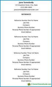 References 3 Resume Templates Sample Resume Resume References