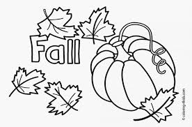 Toddler Coloring Pages For Fall