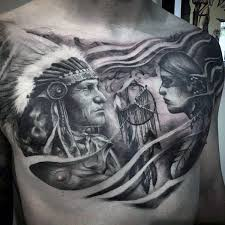Indian Dream Catcher Tattoo Classy 32 Dreamcatcher Tattoos For Men Divine Design Ideas