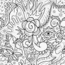 Coloring Pages Detailed Coloring Pages For Adults Flowers Abstract