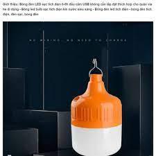 Bóng đèn Led 50W sạc tích điện Yến Quân YQ-802 có móc treo không dây thông  minh 3 chế độ sáng . giá cạnh tranh