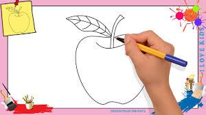 Dessin Pomme Comment Dessiner Une Pomme Facilement Pour Enfants