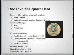 Progressive Era Lo 5 Pt1 The Square Deal Youtube