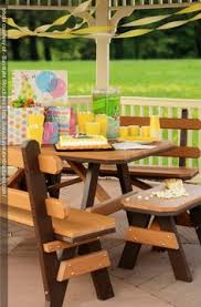 poly picnic table benches