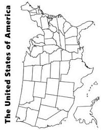 Small Picture Printable Map of The USAalso color versions and other versions