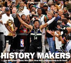 Relive the Milwaukee Bucks championship season with our book