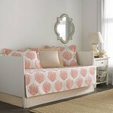 laura ashley felicity 5 piece white daybed set