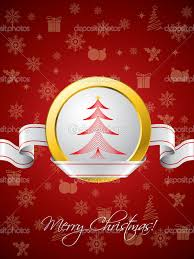 Creative Christmas Cards Home Design Red Christmas Greeting Card With Ribbon Design