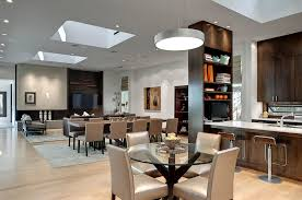 kitchen dining room lighting ideas. Beautiful Ideas Kitchen And Dining Room Lighting Ideas 27 Rooms With Skylights That  Steal The Show Inside