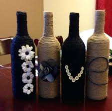 How To Use Wine Bottles For Decoration Decorate Bottles Wine Bottles Decorate Beer Bottles For Christmas 67