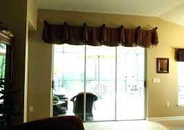 door window treatments ideas patio treatment curtains kitchen sliding