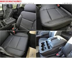 2016 2018 chevrolet silverado leather seats