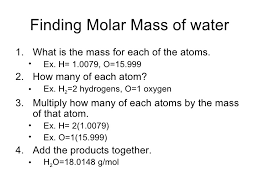 How To Calculate Molar Mass Howwiki Pro