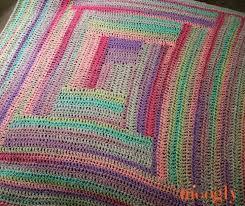 Easy Afghan Patterns Cool Easy Log Cabin Afghan Moogly