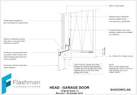 shadowclad garage head