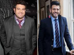 Adam Richman loses Man vs Food weight and makes Soccer Aid debut ...