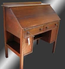 home antique furniture desks antique l jg stickley mission arts and crafts drop front desk w2217
